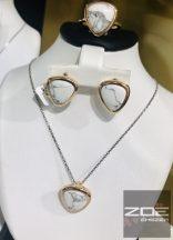 MONI's aranyozott ezüst szett, HOWLIT köves Ag 4378,4377,4379