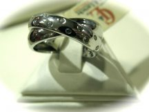 """ Cartier"" stílusú ezüst gyűrű Ag 2950"