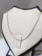Szingapuri ezüst lánc - 50cm Ag 4311