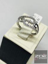 Cirkónia Köves ezüst gyűrű Ag 733