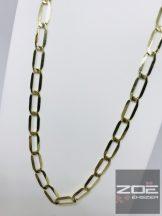 Sárga arany hosszú pancer -55cm  Au1006
