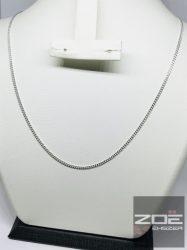 "EZÜST ""PANCER"" LÁNC, hosszú - 70 cm, Ag5281"
