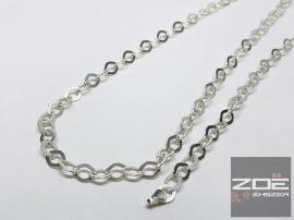 Ezüst női nyaklánc, karlánc szett- rombusz szemekből Ag7514, Ag7515