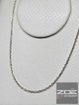 Ezüst szingapúri lánc -50cm Ag 3764