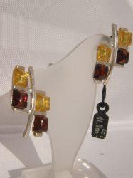 BOROSTYÁN ezüst FÜLI -2 színű Ag 5224