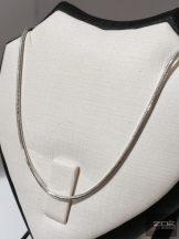 Ezüst kígyó lánc - 55cm Ag 4207
