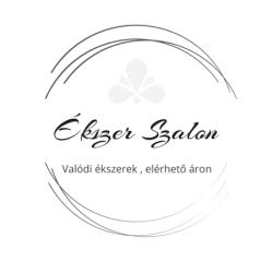 Sárga fehér arany női medál - virág Au 2065