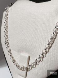 """Ezüst """"gyöngy"""" lánc - 60cm Ag 2305"""