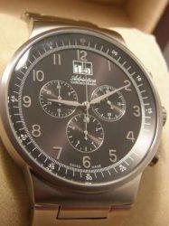 ADRIATICA svájci óra - kvarc, fémszíjas chronograph sorozat R 474